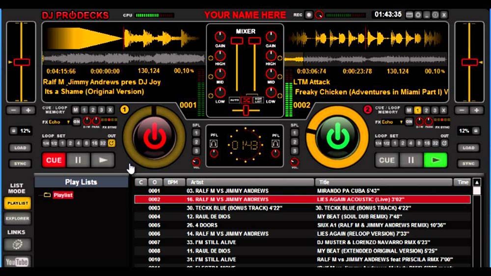 best dj software for windows 7 free download